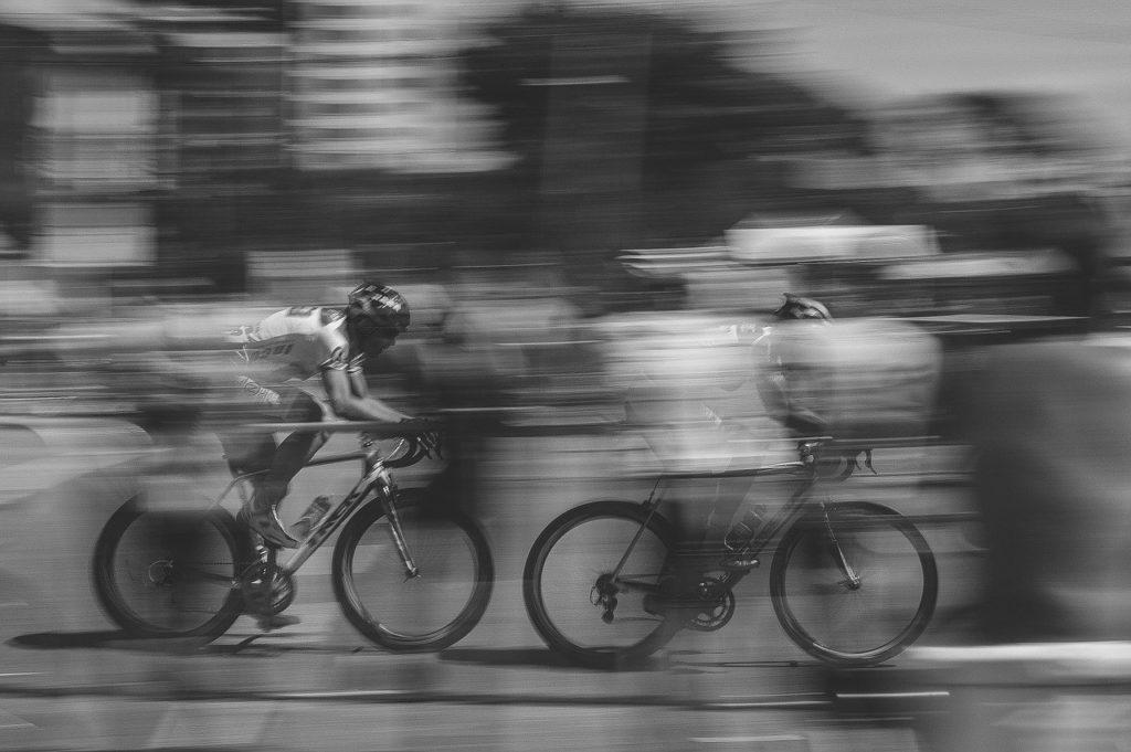 bike riding, fast moving, bike